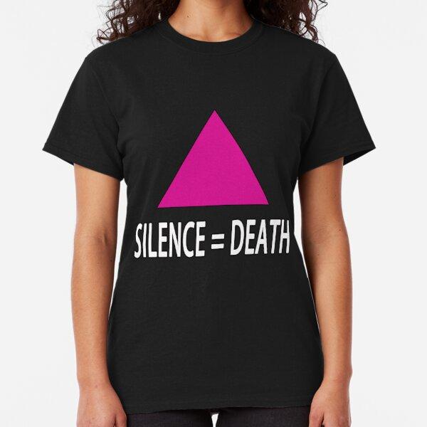 SILENCE = DEATH BLACK Classic T-Shirt