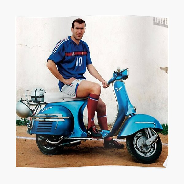Zidane - World Cup Poster