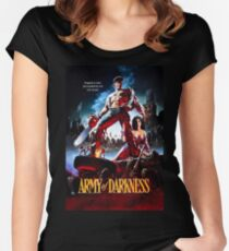 Army of Darkness Women's Fitted Scoop T-Shirt