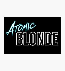 Atomic Blonde (2017) Film - Charlize Theron, The Coldest City, David Leitch, Cold War, Spy, Spies, Lesbian, LGBT+,  Photographic Print