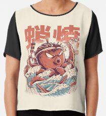 Takoyaki Attack Chiffon Top