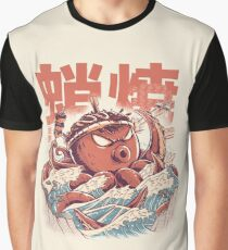 Takoyaki Attack Graphic T-Shirt