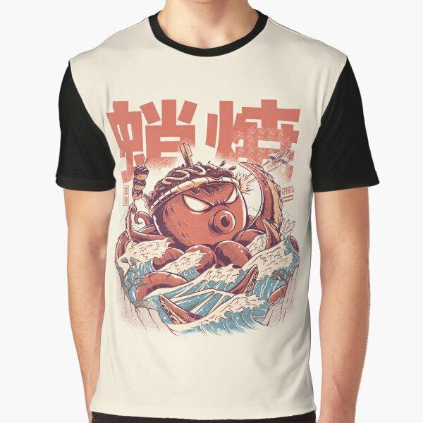 Takoyaki Attack Graphic T-Shirt