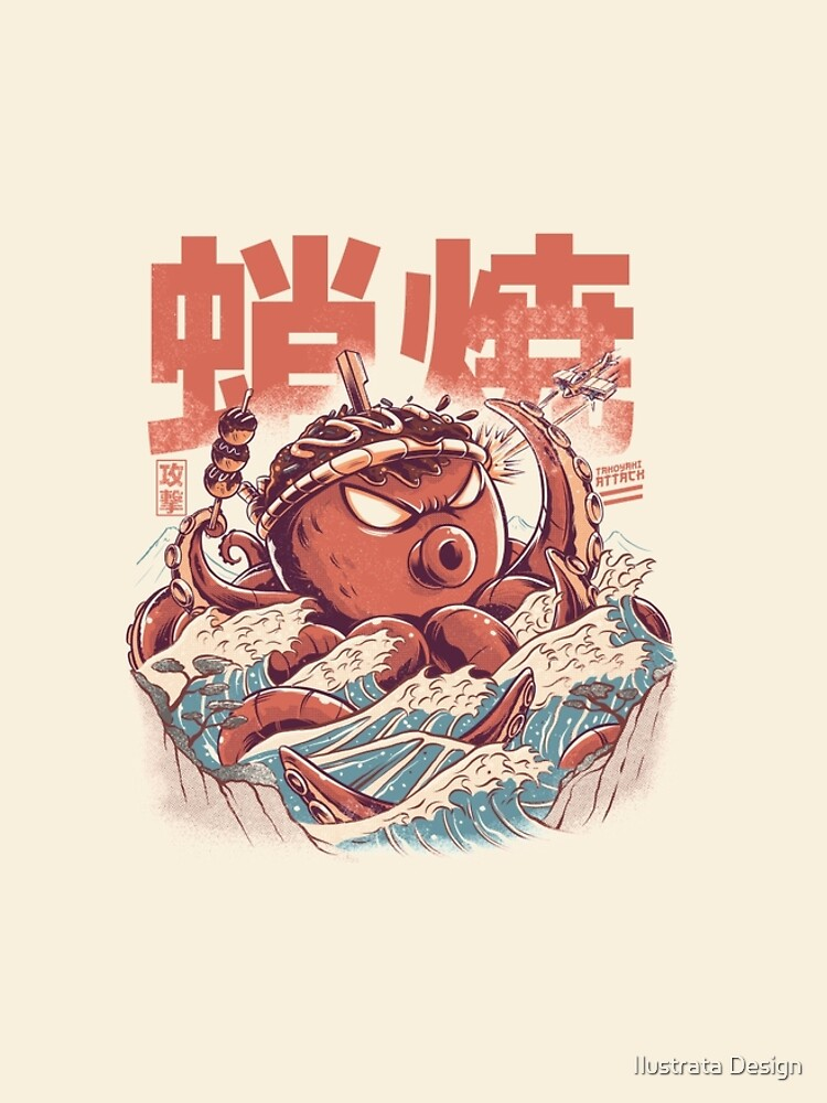 Takoyaki Angriff von ilustrata