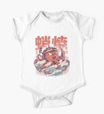 Takoyaki Attack Short Sleeve Baby One-Piece