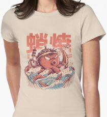 Takoyaki Attack Fitted T-Shirt