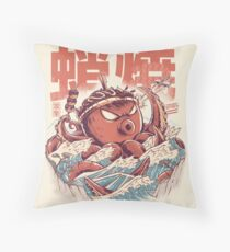 Takoyaki Attack Throw Pillow