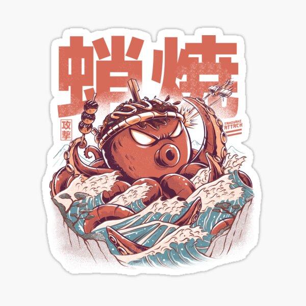 Takoyaki Attack Sticker