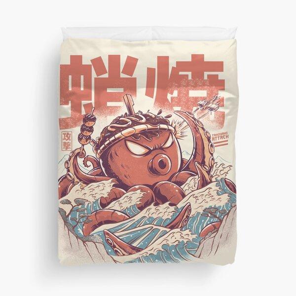 Takoyaki Attack Duvet Cover
