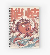 Takoyaki Attack Spiral Notebook