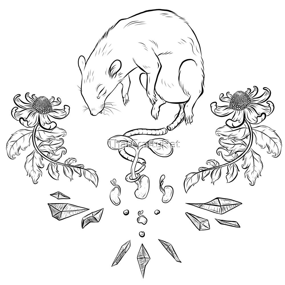 Rattie magics by ThatCraftyRat