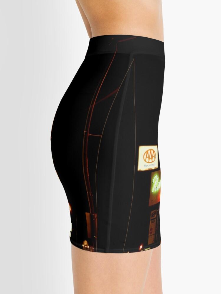 Alternate view of New West Motel Mini Skirt