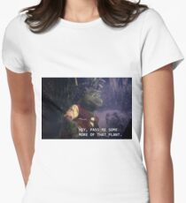 Prehistoric Plant Women's Fitted T-Shirt