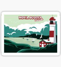 Nova Scotia Postcard Sticker