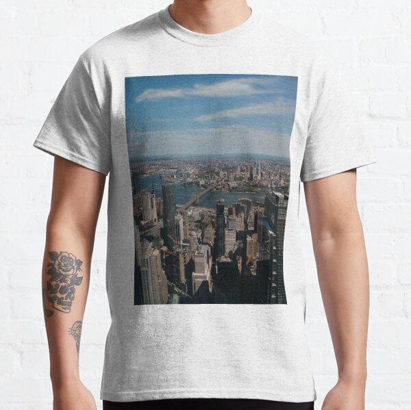 Manhattan, #Manhattan, New York, #NewYork, NYC, #NYC, New York City, #NewYorkCity Classic T-Shirt