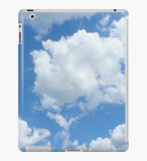 Blue Sky with Clouds iPad Case/Skin