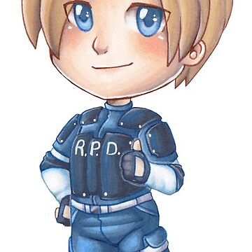 "The ""S"" Stands For Supportive: Leon S. Kennedy Stickers by rabbitflesh"