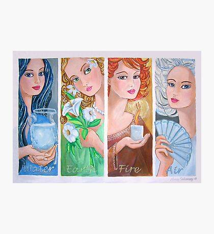 The Four Elements Photographic Print