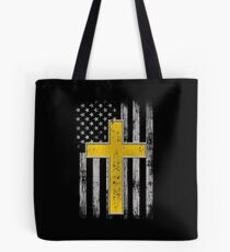 Police Dispatch Thin Gold Line Dispatcher Police Gifts Tote Bag