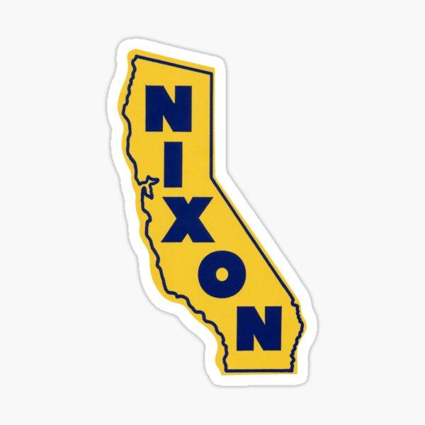 1972 California le gusta Nixon Pegatina