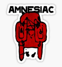 Radiohead Amnesiac Sticker