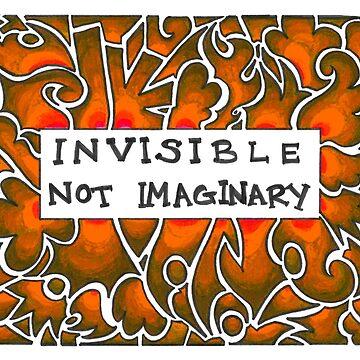 Invisible Not Imaginary (orange) by Jezunya