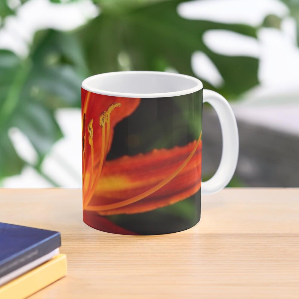 Red Daylily (Hemerocallis) from A Gardener's Notebook Mug