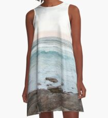 Bondi Beach A-Line Dress