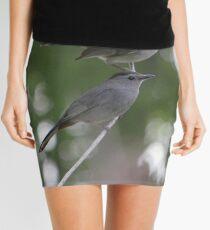 A Pair Of Gray Catbirds. Mini Skirt