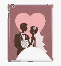 Wedding invitation design. iPad Case/Skin