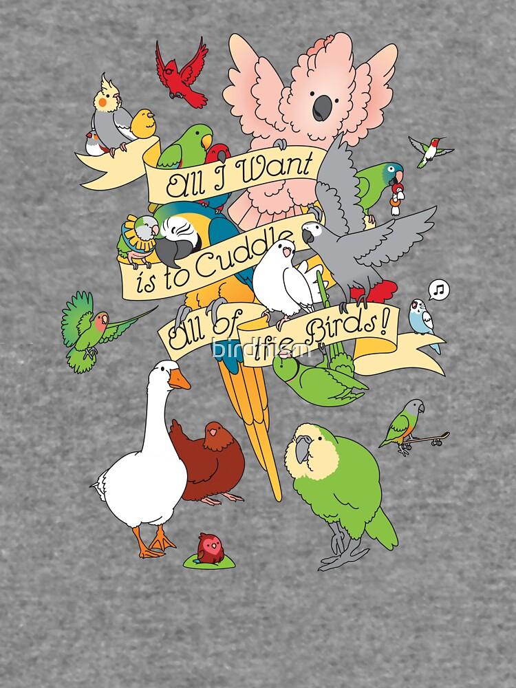 Cuddle All The Birds by birdhism