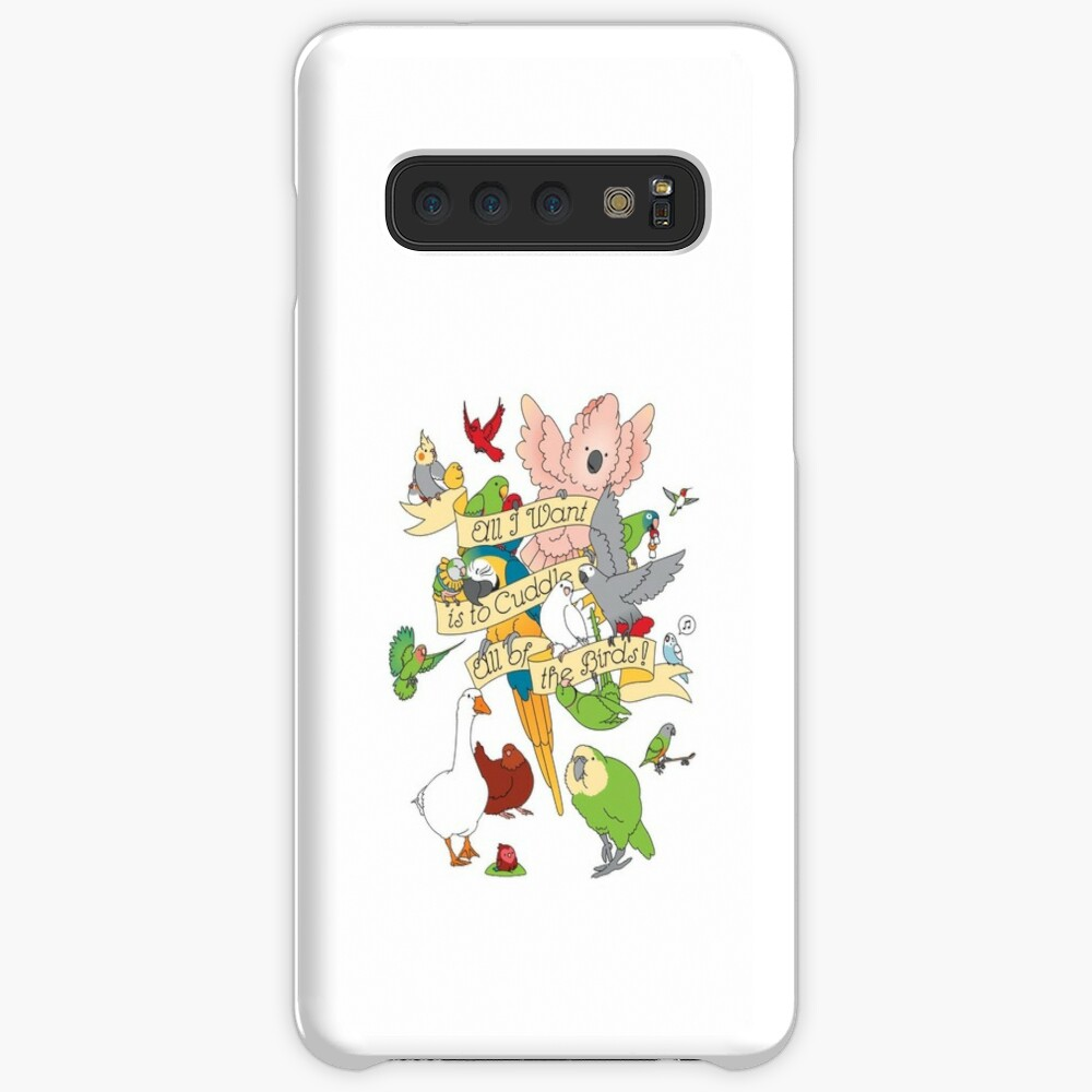 Cuddle All The Birds Case & Skin for Samsung Galaxy