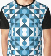 Blue Regular Graphic T-Shirt