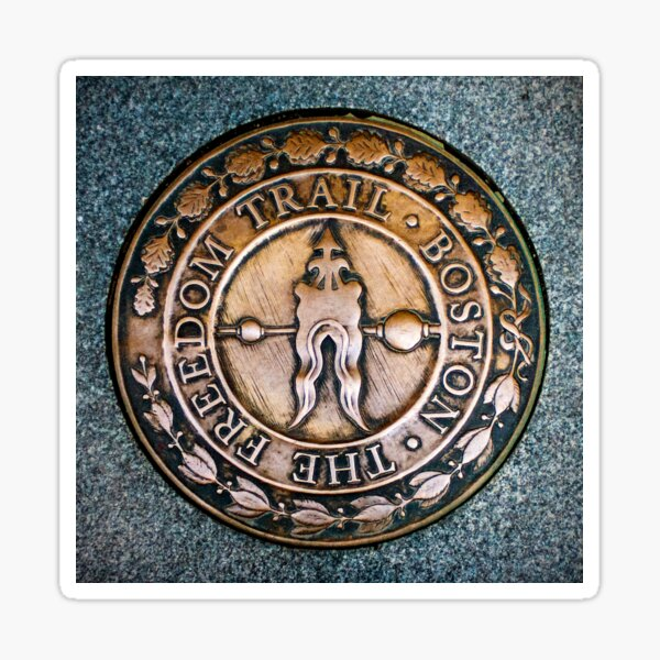 Freedom Trail Sticker