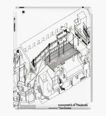 Axonometric of Hacienda in White iPad Case/Skin