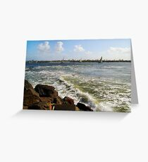 The Yacht Race Greeting Card