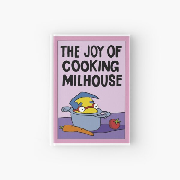The joy of cooking Milhouse Hardcover Journal