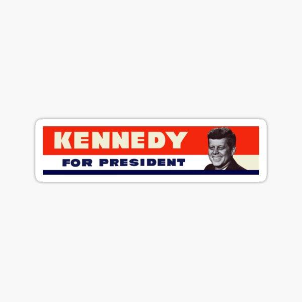 1960 John F. Kennedy for President Sticker