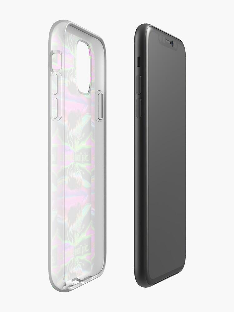 Coque iPhone «Regardant à travers un miroir», par JLHDesign