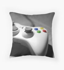 Lonely Gamer Throw Pillow