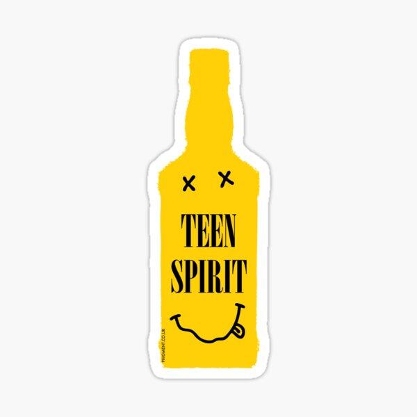 TEEN SPIRIT [BOUTEILLE JAUNE] Sticker