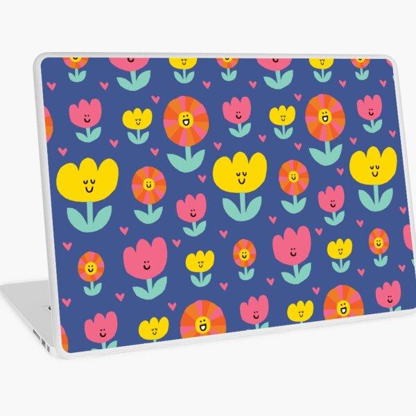 Happy Flowers Laptop Skin
