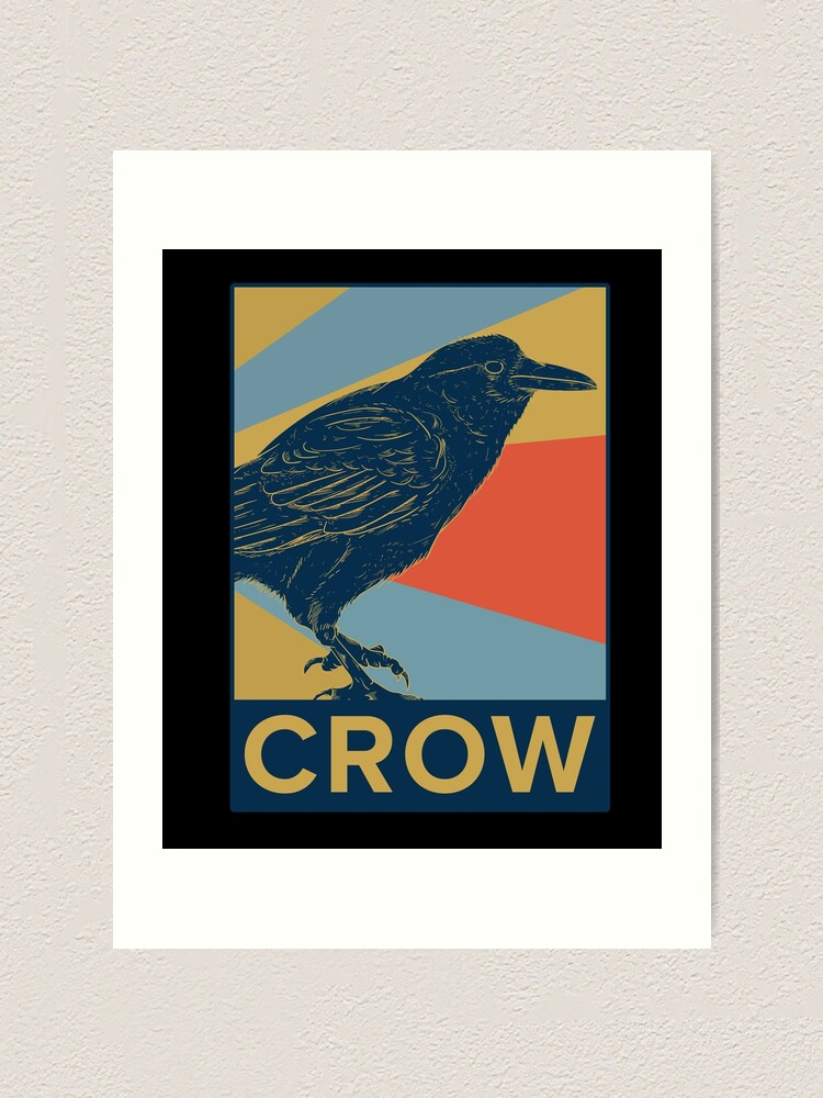 Alternate view of Crow Art Print