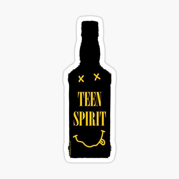 Teen Spirit [Bouteille noire] Sticker