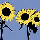 Sunflowers by Richard Ackoon