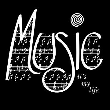 Music | It's my life | White by jevois
