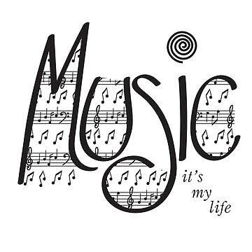 Music | It's my life | Black by jevois