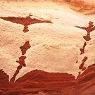 rock birds taking off by yvesrossetti