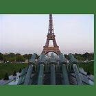 Cannons about to shoot Eiffel Tower by roggcar