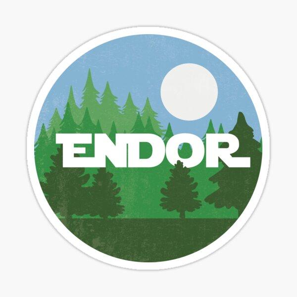 Endor Sticker